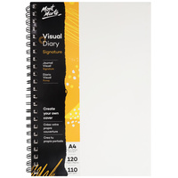Mont Marte Visual Diary Paper Cover 120 Page 110gsm A4 Size