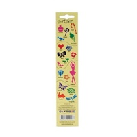 Mont Marte Kids Stencil Strips 4pce - Sugar and Spice - MMKC0107