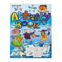Mont Marte Kids Activity Book 32 Sheet A4