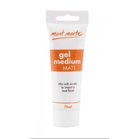 Mont Marte Gel Medium Matt - 75ml
