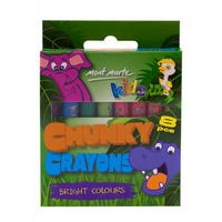 Mont Marte 8pce Kids Chunky Crayons