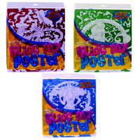 Set of 3 Mont Marte Bling My Poster's, Kids Activity Collection, Bulk Pack