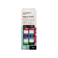 Mont Marte Fabric Paint Set 8pce x 20ml Tubs