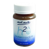 Mont Marte Oil Gel Medium for Water Mixable 125ml, Water Soluble