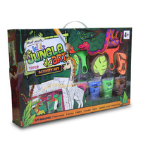 Mont Marte Kids Jungle Art Activity Set 19pce