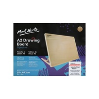 Mont Marte Drawing Board A2 with Band, Table Easel