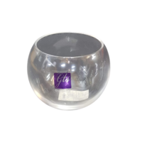 6pce x 5.5cm Tea Light Candle Glass Holders. Bulk Buy. Great for All Occasions.