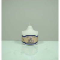 36 Hour Twilight Church Candle - 7cm x 7.3cm. Smokeless & Lead Free.