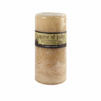 Spice of India 7x15cm Pillar Candle - Indian Musk