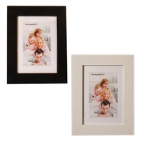 "1pce 5x7"" MDF Picture / Photo Frame, Thick Bordered"