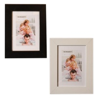 "1pce 8x10"" MDF Picture / Photo Frame, Thick Bordered, 25cm x 20cm"