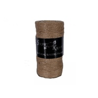 50m Natural Bakers Twine on Spool, Rope String, Craft or Baking