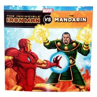 Marvel Superhero Iron Man Defeat Villains Story Book, Kids Reading & Fun Comics-Vs. The Mandarin