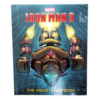 Marvel Superhero Iron Man Story / Sticker Activity Book, Kids Reading & Fun Comics-3 Movie Storybook
