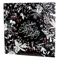 Garden of Earthly Delights: Lush Wonderland of Colouring for Adults by Adria Thearapy
