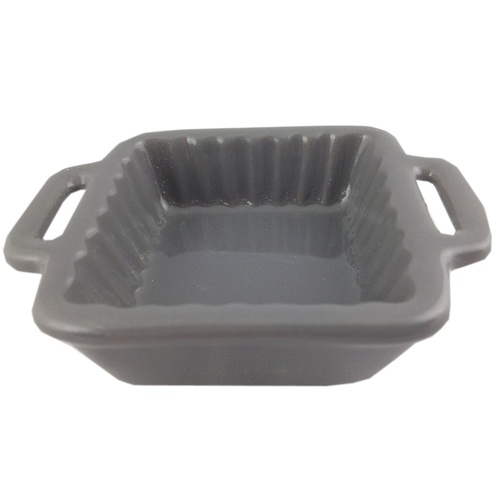1 x Small Ramekin Ceramic Grey 84x64x25mm, great for sauces, cafe's/restaurants