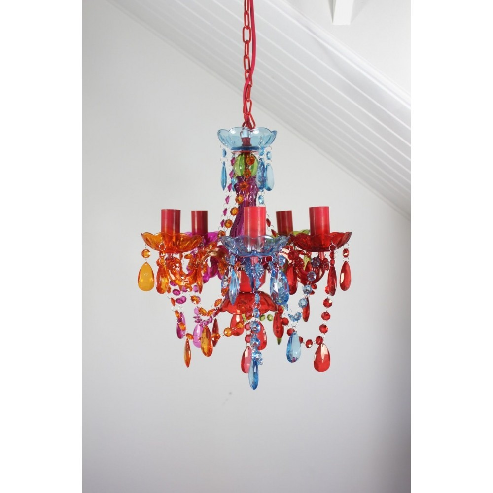 Gypsy chandelier pendant ceiling light multi coloured small droplets gypsy chandelier pendant ceiling light multi coloured small droplets 5 lights aloadofball Image collections