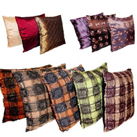 40cm Cushion Cover Decor Polyester Assorted Designs (No Insert)