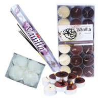 Beige/Vanilla Romantic Decoration Kit for Valentines Day/Honeymoon, Rose Petals & Aromatherapy