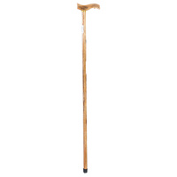 1pce 90cm Natural Wooden Walking Stick / Aid