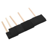 Foam Hobby Brush Set 5pce 25mm to 100mm Set