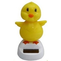 10cm Grooving Chick Solar Powered Great for the Car, Office or Kitchen