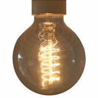 Edison vintage light bulb / globe airship lamp, E27 screw 40 watt - ED006