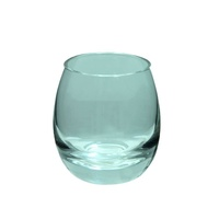 4pce 9cm Glass Candle Urn / Vase for Tealight & Floating Candles MQ-245