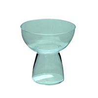 3pce 11cm Glass Candle Urn / Vase for Tealight & Floating Candles MQ-246