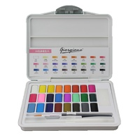 Macaron 24 Colour Professional Solid Watercolour Cake Paint Set