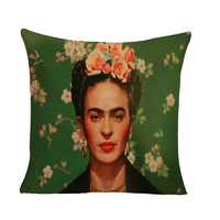 Frida Kahlo Mexican Inspired Cushion Cover (No Insert) 45cm Mexican Inspired Design