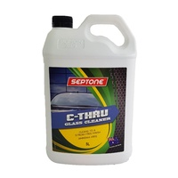 BULK LOT Septone Glass Cleaner 5L Cleans to a Streak Free Finish Ammonia Free