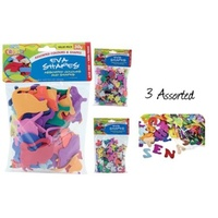 Assorted Pack of EVA Letters 30g. Great for art, craft and scrapbooking