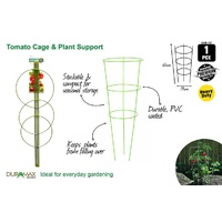 1pce Tomato / Plant Support Cage w/3 Rings 61cm High -  DURAMAX
