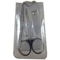 3pce Manicure Kit/Set Pocket Size. Great For Travelling. Comes in Clear PVC Case
