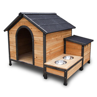EXTRA LARGE PET DOG TIMBER HOUSE WOODEN KENNEL 2CTN