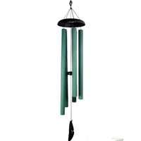 127CM 5-TUBES Forest Green Harmonious Wind-chime Natures Melody
