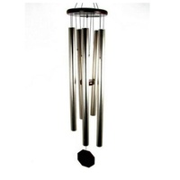 127cm GOLD Long Metal Column Harmonious Windchime beautiful zen feng shui