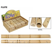 31CM Bamboo Flute in Natural Colour, Great Kids Musical Toy Fun for the Family