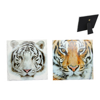 1pce 15cm Tiger Feature Plaque Detailed Realistic