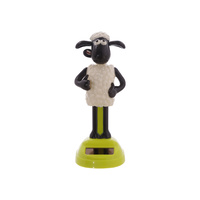 New 1pce 14cm Sean the Sheep Solar Powered Dancing Groover LICENCED MERC