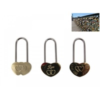 4.6cm Love Padlock for Couples & Newlyweds
