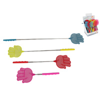 1pce 75cm Extendable Hand Fly Swatter, Quirky Novelty