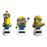 1pce Minion Solar Powered Sun Dancing Groover