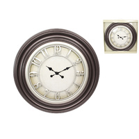65cm Vintage Antique Grand Style Wall Clock with Detailing