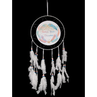 New 1pce Dream Catcher 30cm Diameter with Follow Your Dreams Words