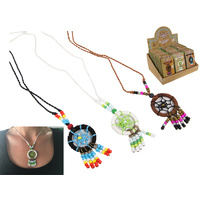 NEW 1pce Dream Catcher Necklace in 3 assorted colours