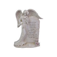 1pce 22cm Standing Inspirational Angel Plaque Spiritual Home Décor Resin