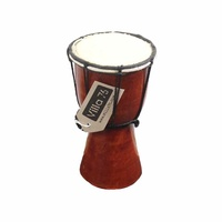20cm Bongo / Djembe Drum, Goat Skin Hyde Mahogony Wood Musical Great Value!!