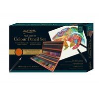 Mont Marte Premium Colour Pencils Box Set 72pce, Great Artist Gift